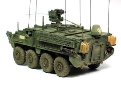 M1130 Stryker CV & TACP 1/35 Scale Model