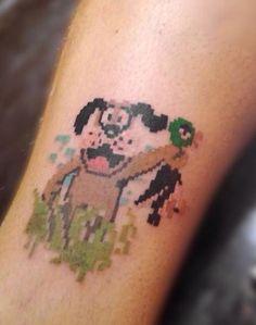 Tattoo duck hunt  Tatuaje