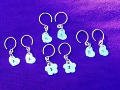 Little Girls Earrings in Sterling!! I so need a girl!! <3 Find Treasured Trinkets on Facebook.