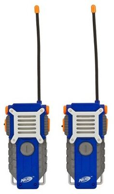 Nerf Walkie Talkie for Kids Fun at the Touch of a Button Set of 2 1000 Feet NEW for sale online Nerf Games, Nerf Toys, Outdoor Toys For Boys, Arma Nerf, Pistola Nerf, Project Mc2, Spy Gear, Toys R Us Canada, Business For Kids