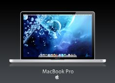 MacBook Pro. The best notebook a girl can buy. It's so fast and easy to use.
