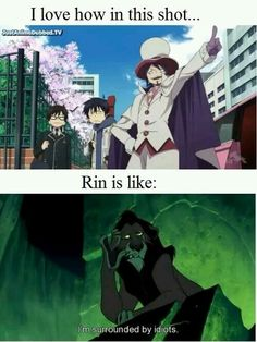 Image de ao no exorcist, rin, and blue exorcist