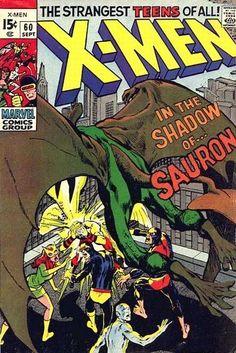 Uncanny X-Men # 60 by Neal Adams & Tom Palmer