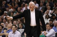 San Antonio Spurs Head Coach Gregg Popovich Is The NBA Coach Of The Year