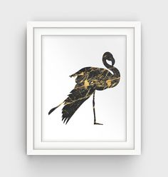 Gold Nursery Gold and Black Decor Gold Baby by GalliniDesign