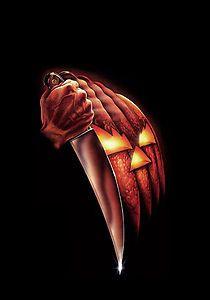 michael myers art | Halloween Movie Poster Art Michael Myers John Carpenter Horror | eBay