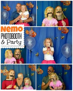 Finding Nemo Birthday Party @Rachel R Strickland MacWhirter - this concept would work for any kind of birthday party