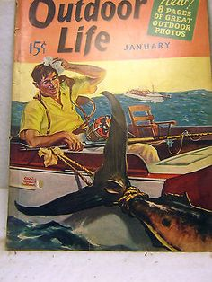Outdoor Life October 1939 Vintage Condition G F Good for Ad Sheets Outdoor Photos, Outdoor Art, Outdoor Life, Hunting Magazines, Fishing Magazines, Magazine Art, Magazine Covers, Life Cover, Vintage Fishing Lures