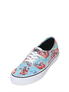 VANS - STAR WARS AUTHENTIC CANVAS SNEAKERS - SNEAKERS - LIGHT BLUE - LUISAVIAROMA