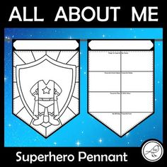 A fun back-to-school activity that will look great hanging in your classroom. The FRONT template has two options:Boy superhero body - draw your own headGirl superhero body - draw your own headThe BACK template has two options - with or without labels. The template with labels comes with UK or... Fun Classroom Activities, Back To School Activities, School Resources, Classroom Resources, Art Classroom, School Classroom, Teaching Resources, Spelling Words, Sight Words