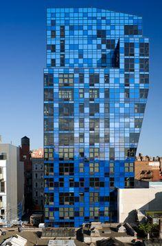 Blue Residential Tower, NY | Architect: Bernard Tschumi