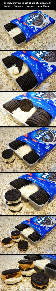 The ultimate Oreo: M'Oreos I love this!