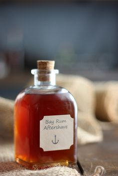 Bay Rum Aftershave Cologne Recipe