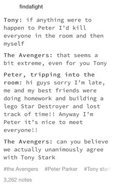 Peter Parker and the Trip (One-Shots) - Peter Says Yes. Kinda - Wattpad Read Peter Says Yes. Kinda from the story Peter Parker and the Trip (One-Shots) by Wanted_Cereal_Killer (AngelinaSo. Avengers Humor, Marvel Jokes, Funny Marvel Memes, The Avengers, Dc Memes, Marvel Dc Comics, Marvel Universe, Die Rächer, Deadpool