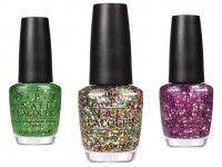 Sparkly nail polish!