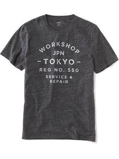 """Workshop Tokyo Service & Repair"" Tee for Men Product Image"