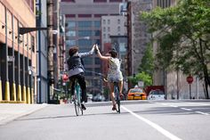 Série fotográfica sobre: Os ciclistas de Nova York