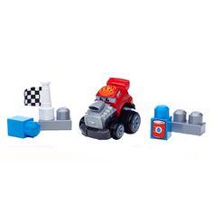 Prepare-se para uma corrida entre amigos com Zach da linha Mega Bloks First Builders. Veja a criança montar esse carro de corrida muito divertido. Com peças feitas para mãos pequeninas, a criança pode apertar e ver o carro correr! Inclui quatro blocos de montar que servem como obstáculos na pista.