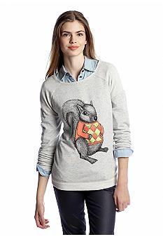 Eric   Lani Squirrel Sweatshirt   Alpha Gamma Delta
