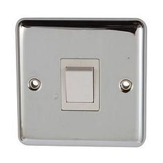 Volex Polished Chrome Switch With Rounded Edge Double Pole 20 Amp for sale online Polished Chrome, Amp, Ebay
