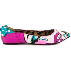 0e40942f011f Iron Fist Women s Lezi Gore Flat - Black ( 46) ❤ liked on Polyvore  featuring shoes