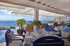 Restaurant at Hotel LeToiny, Saint Barts