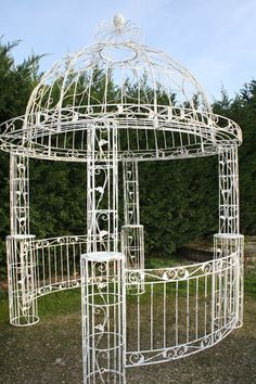 gloriette kiosque de jardin fer forg pinterest. Black Bedroom Furniture Sets. Home Design Ideas