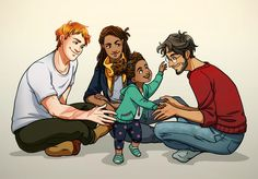 The golden trio  Harry, Ron and Hermione  Romione  Harry Potter  Next Generation  Rose Weasley