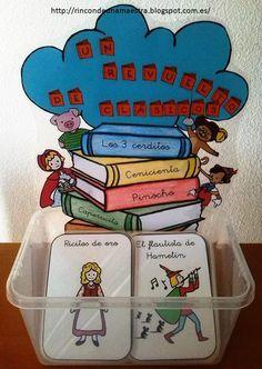 La entrada de hoy es bastante especial. Llevo varias semanas pensando en cómo poder trabajar la literatura infantil y, dentro de ella, los c...