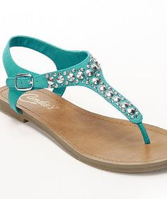 Candie's Studded Thong Sandals