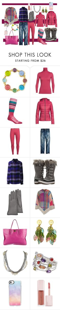 """winter outfit"" by moestesoh ❤ liked on Polyvore featuring Elizabeth Locke, Icebreaker, J.Crew, Lands' End, SOREL, Forzieri, Missoni, Lanvin, David Yurman and Sterling Forever"