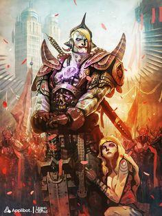 Insane General - Regular Version -, Reynan Sanchez on ArtStation at http://www.artstation.com/artwork/insane-general-regular-version