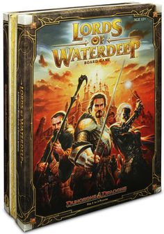 ThinkGeek :: D Lords of Waterdeep...one of my new favorite tabletop games.