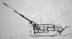Coastal gun