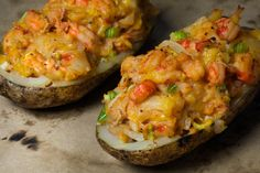 crawfish baked potato | Crawfish stuffed and twice baked, this recipe will change the way you ...