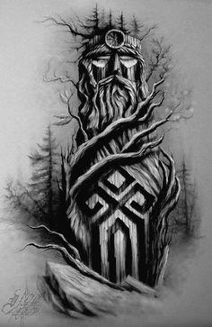 Images of viking tattoos – Tattoo 2020 God Tattoos, Body Art Tattoos, Sleeve Tattoos, Viking Tattoo Sleeve, Tattoo You, Slavic Tattoo, Norse Tattoo, Thor Tattoo, Viking Tattoo Symbol