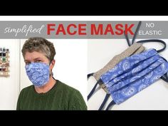 Simplified FACE MASK / No Elastic / Filter Pocket / Upcycled T-Shirt Ties - Want to make a face mask, but you don't have elastice? No worries. Upcycled t shirts can be used as the ties and they are very easy to make. Sewing Hacks, Sewing Tutorials, Sewing Projects, Easy Face Masks, Diy Face Mask, Recycled T Shirts, Diy Couture, Diy Mask, Mask Making