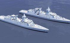 Ecco le nuove navi militari di Bono (Fincantieri) e Moretti (Finmeccanica)