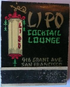 The History of SF Bars Through Vintage Matchbooks | Uptown Almanac
