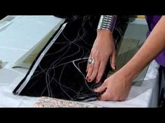 Quilt Show Tutorials: Power Cutting - YouTube- shows great way to fold fabric and how to cut straight strips