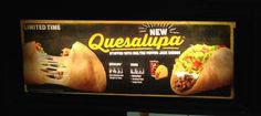 Quesalupa from Taco Bell Testing in Ohio