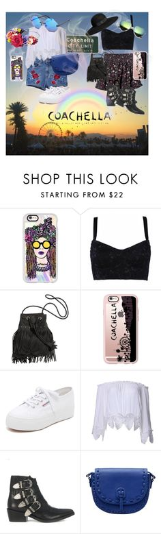 """Coachella 2016 Style"" by valebestylish ❤ liked on Polyvore featuring Casetify, H&M, Superga, Toga and MANGO"