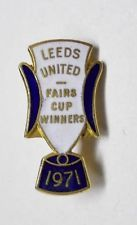 Leeds United Vintage 71 Fairs Cup Winners Badge