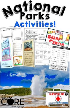 Lots of activities a