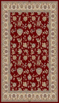 Brilliant 7226 330 Red Rug
