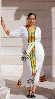 e53831a79d2aa Ethiopian Traditional Dress Fashion