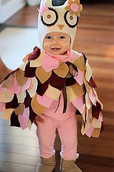 Костюм совы для малыша