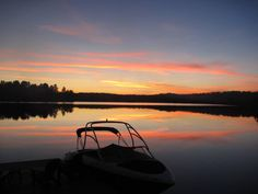 A beautiful October night in Muskoka Leech Lake