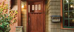 Front door for the Casa