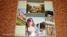 Фотоальбом по принципу бесконечной открытки на 8 квадратных фотографий